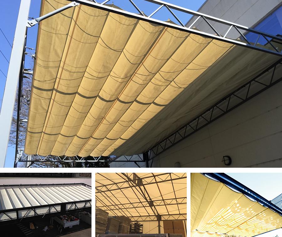 開閉式テント屋根についてイメージ