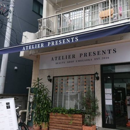 東京都世田谷区|電動式オーニングテントの施工事例(店舗・軒先)