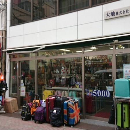 東京都中央区|手動式オーニングテントの施工事例(店舗・軒先)