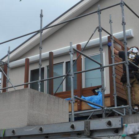 神奈川県横浜市|高強度オーニングテントの施工事例(住宅)