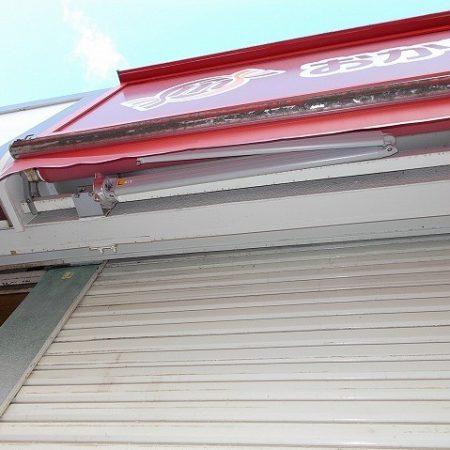 神奈川県横浜市 オーニングテント修理の施工事例(店舗・軒先)